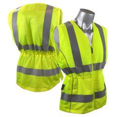Radians SVL1 Class 2 Hi Vis Ladies Mesh Back Contoured Safety Vest