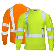 Radians ST21-3 Hi Vis Class 3 Long Sleeve T-Shirt