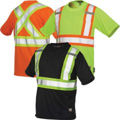 Work King S392 ANSI 2 Micro-Mesh Safety T-Shirts