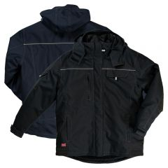 Tough Duck WJ14 Poly Oxford Insulated Quilt Lined Work Wear Jacket