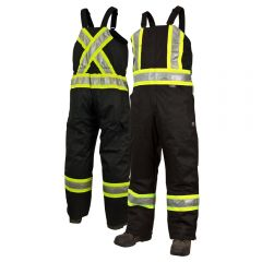 Work King S798 Class 1 Thermal Safety Bib Overalls