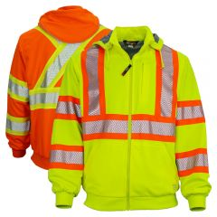 Work King SJ16 Class 3 Thermal Lined Anti-Pill Polyester Hoodie