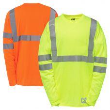 CAT 1510469 Class 2 Moisture Control Long Sleeve T-Shirt