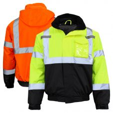 GSS Safety 8001/8002 Class 3 HiVis Thermal Safety Bomber Jacket