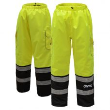 GSS Safety 8711 Onyx Series Class E HiVis Thermal Ripstop Safety Pant