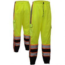 GSS Safety 3807 Class E Premium Mesh Pants w/ Cargo Pockets