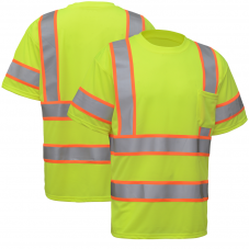 GSS Safety 5009 Class 3 Two Tone Short Sleeve T-Shirt
