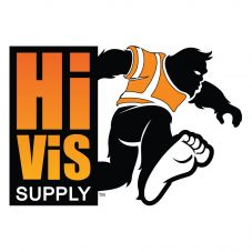 HiVis Hank 991192 Block Logo Hard Hat Sticker