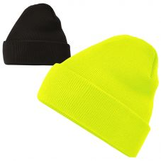 HiVis Supply H1122 Classic Cuffed Arctic Fleece Lined Beanie