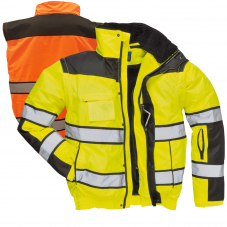 PORTWEST UC466 CLASS 3 CLASSIC 3-IN-1 BOMBER JACKET