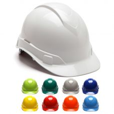 Pyramex Ridgeline HP441 Cap Style 4-Point Ratcheting Suspension Hard Hat