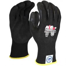 Radians RWGD108 AXIS D2 Cut Level A4 Black Dyneema Diamond Technology Glove