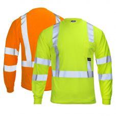 Radians ST21-3 ANSI Class 3 Long Sleeve T-Shirt