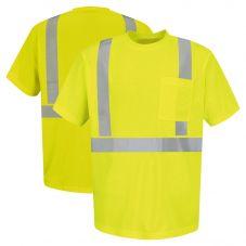 Red Kap SYK6HV Class 2 Single Pocket Short Sleeve Shirt