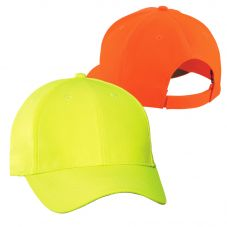 SanMar C806 Solid Enhanced Visibility Cap