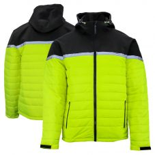 Tough Duck XJ031 Enhanced Visibility PU Coated Crossover Puffer Jacket