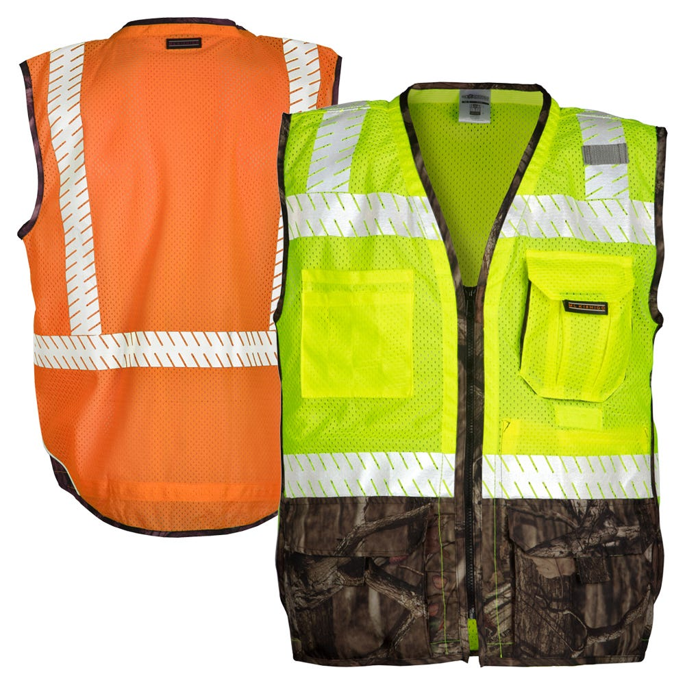 ab17d4761072c ML Kishigo 1523/1524 Heavy Duty Mossy Oak Break-Up Infinity Vest