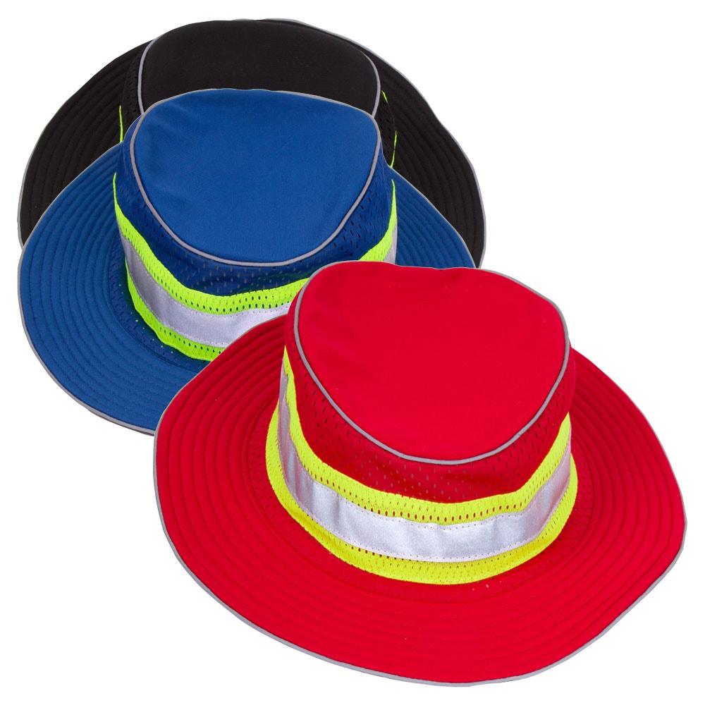 33805a55efb587 ML Kishigo B22/B24 Enhanced Visibility Series Full Brim Safari Hat