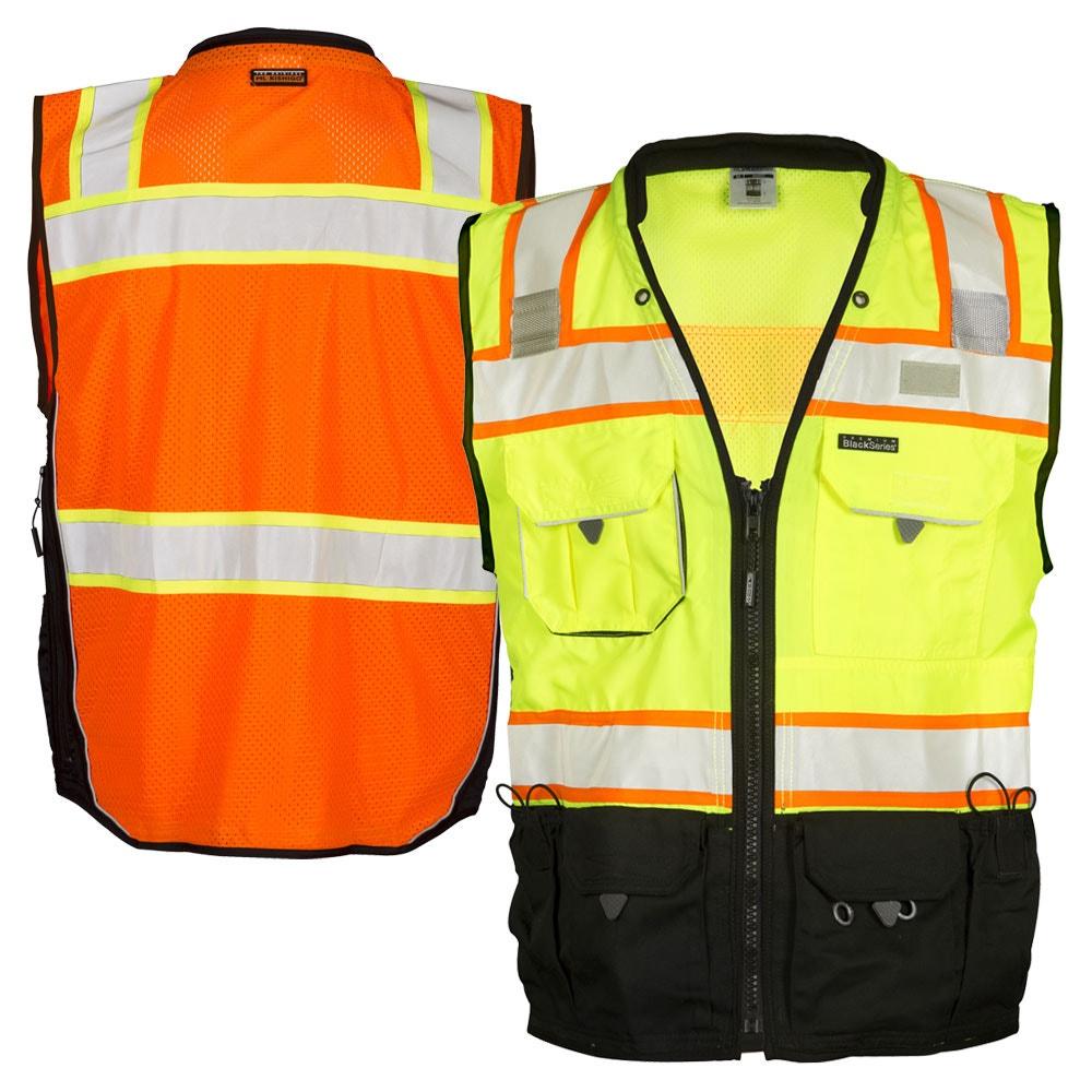 48ce6db781e891 ML Kishigo S5002/S5003 Black Series Class 2 Surveyors Vest