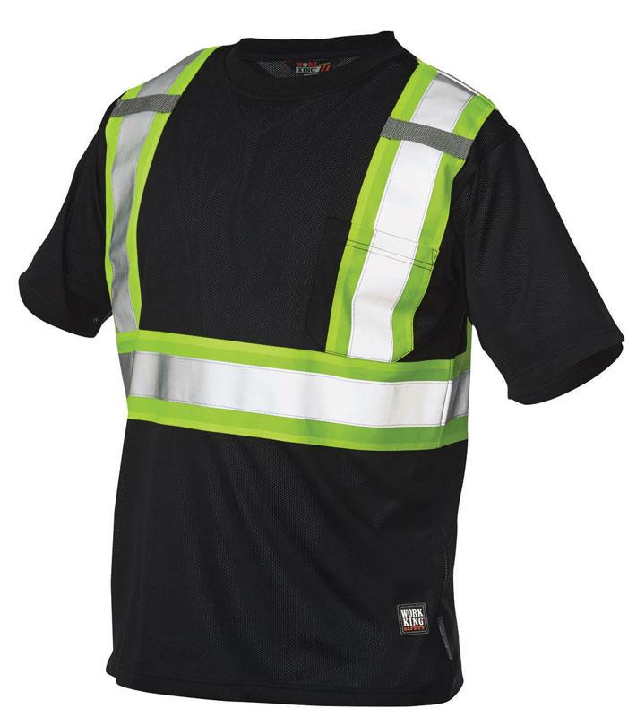 Work King S392 ANSI 2 Micro-Mesh Safety T-Shirt