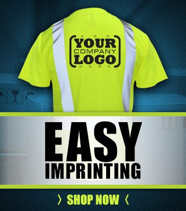 Easy Imprinting - Add Your Company Logo Or Custom Message