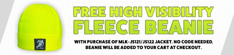 Free Beanie When You Purchase A MLK-JS121