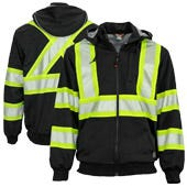 Enhanced Visibility Black Safety Gear by Tough Duck
