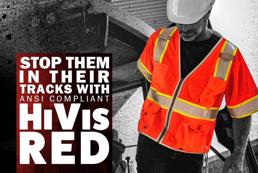 HiVis Red