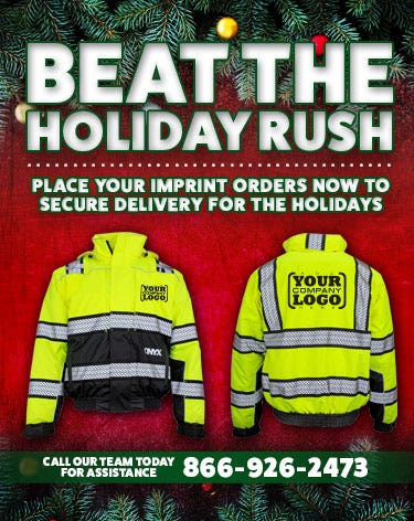 Imprint Your HiVis Workwear Now