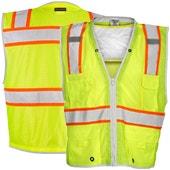 High Visibility Cooling Safety Vests