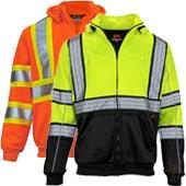 High Visibility Reflective Safety Sweatshirts