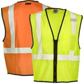 High Visibility Budget Saver Safety Vests