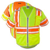 High Visibility ANSI 107 Type R Class 3 Safety Vest