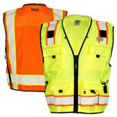 High Visibility Professional Surveyors Safety Vests