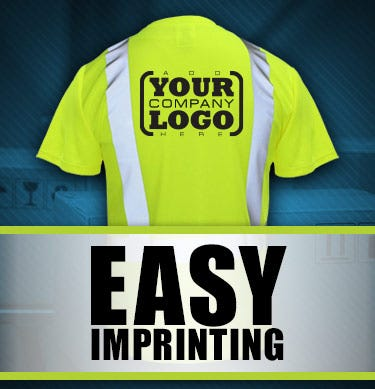 Easy Imprinting by HiVis Supply