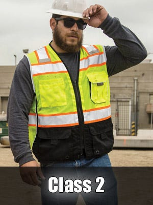 High Visibility Class 2 Safety Vests by Kishigo
