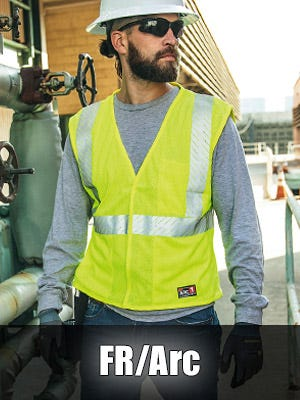 High Visibility FR/Arc Flash Safety Vests | Made In The USA