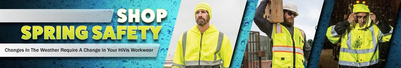 Hi Vis Spring Safety Workwear