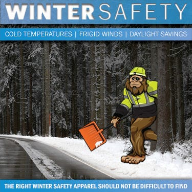 High Visibility Safety Apparel for Autumn