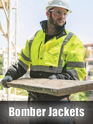 High Visibility Safety Bomber Jackets
