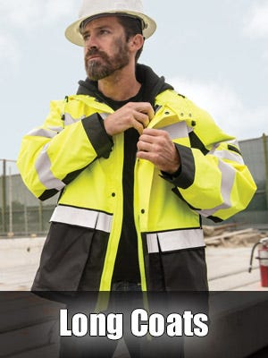 High Visibility Insulated Long Coats