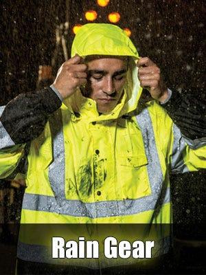 High Visibility Rain Gear