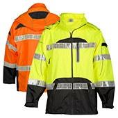 High Visibility Safety Rainwear